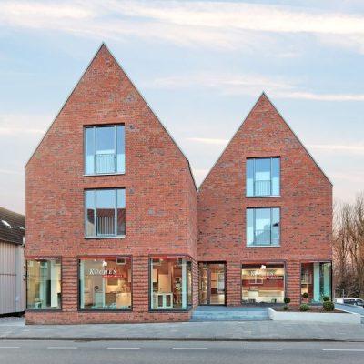 Büro- und Wohnhaus Johlen, Preetz, bsp-Architekten